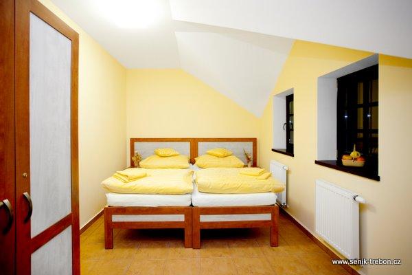 Ložnice ve Schwarzenberském seníku.